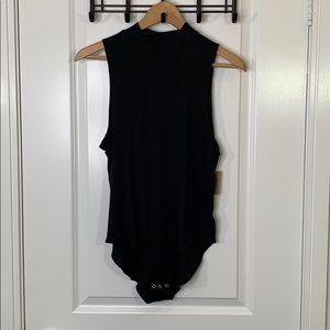 NWT American Eagle XL Black Soft Stretch Bodysuit